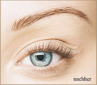Wimpernlifting nachher